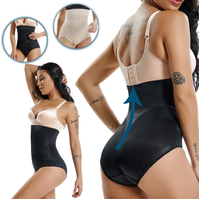 BYBH Women's Underbust Bodysuit, Waist Cincher Shapewear