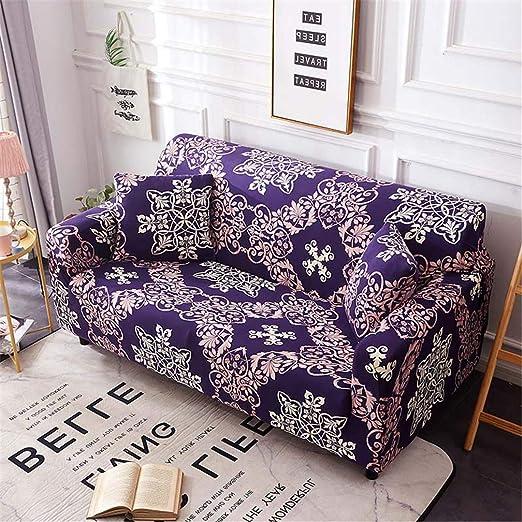 Funda de sofá elástica Universal para Sala de Estar, sofá ...