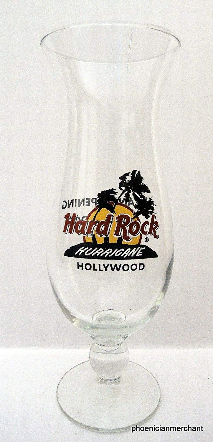 Hard Rock Cafe on Hollywood Blvd 2010 Grand Opening Hurricane Glass