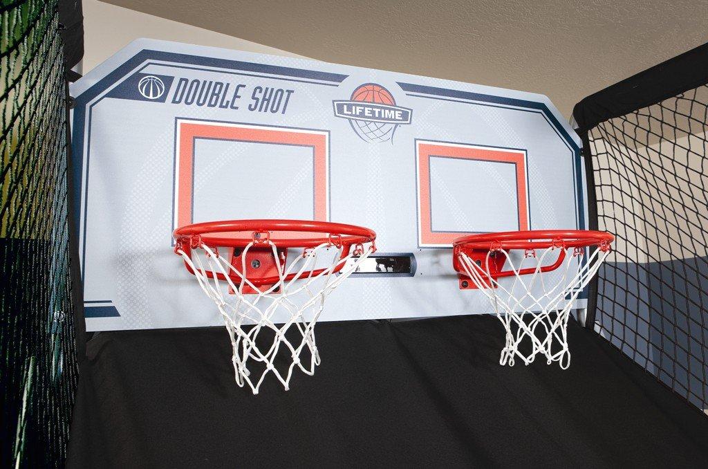 Lifetime 90056 Double Shot Arcade Indoor Basketball Hoop Game by Lifetime