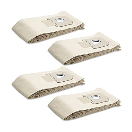 5 - 20 bolsas para aspiradora Kärcher NT 40/1, NT 45/1, NT ...
