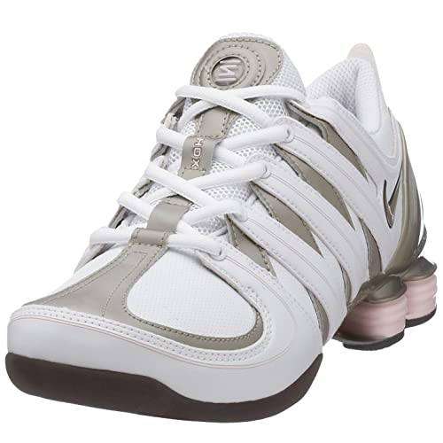 Nike, Scarpe da Ballo Donna Bianco Bianco 8 UK: Amazon.it