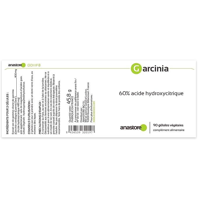 Anastore Garcinia Cambogia 400 mg - 90 Cápsulas: Amazon.es: Salud y cuidado personal