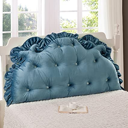 85b05684819b Vercart Sofa Bed Large Upholstered Headboard Filled Triangular Wedge  Cushion Bed Backrest Positioning Support Pillow Reading