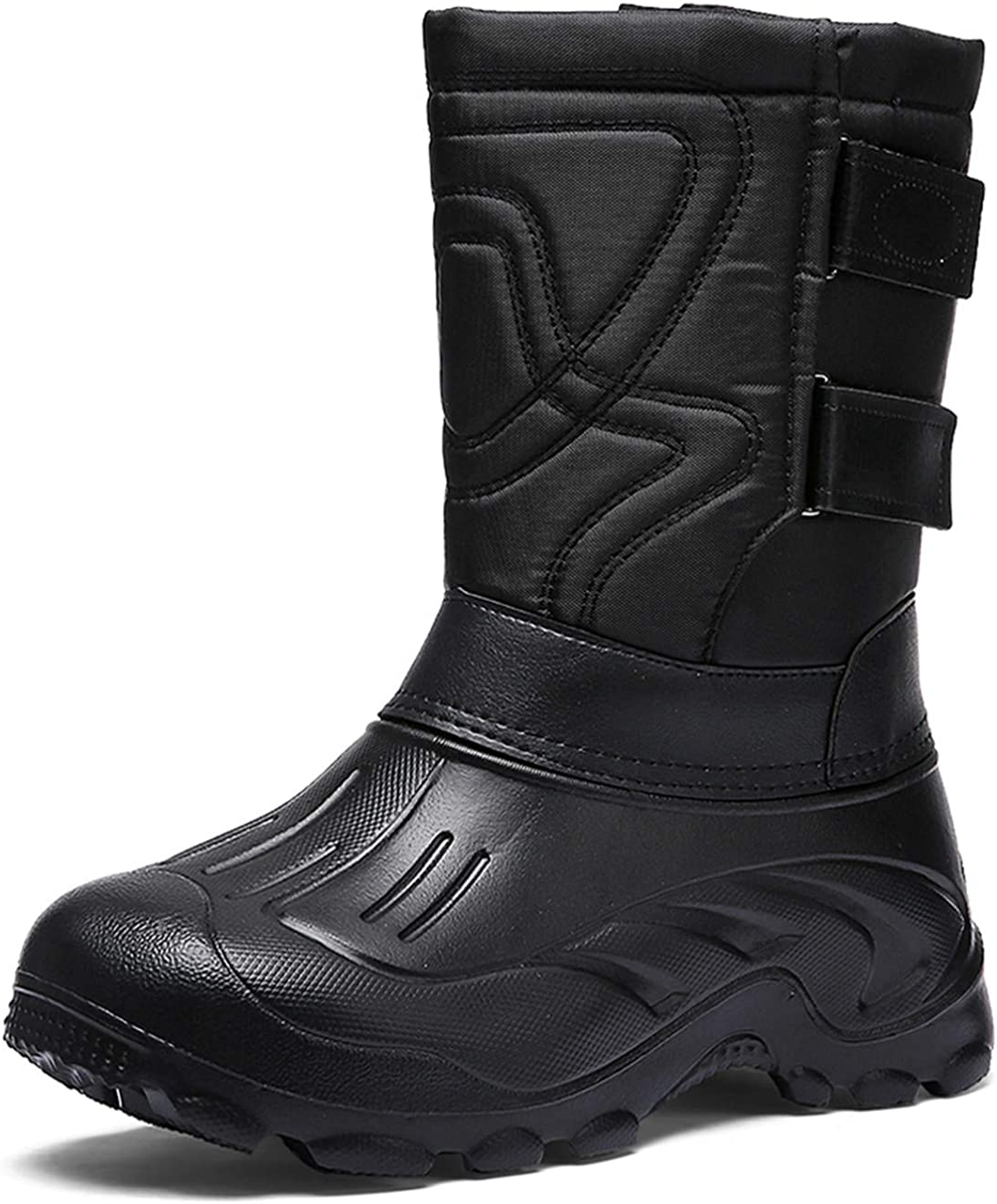 TENGTA Winter Warm Fur Lined Snow Boots