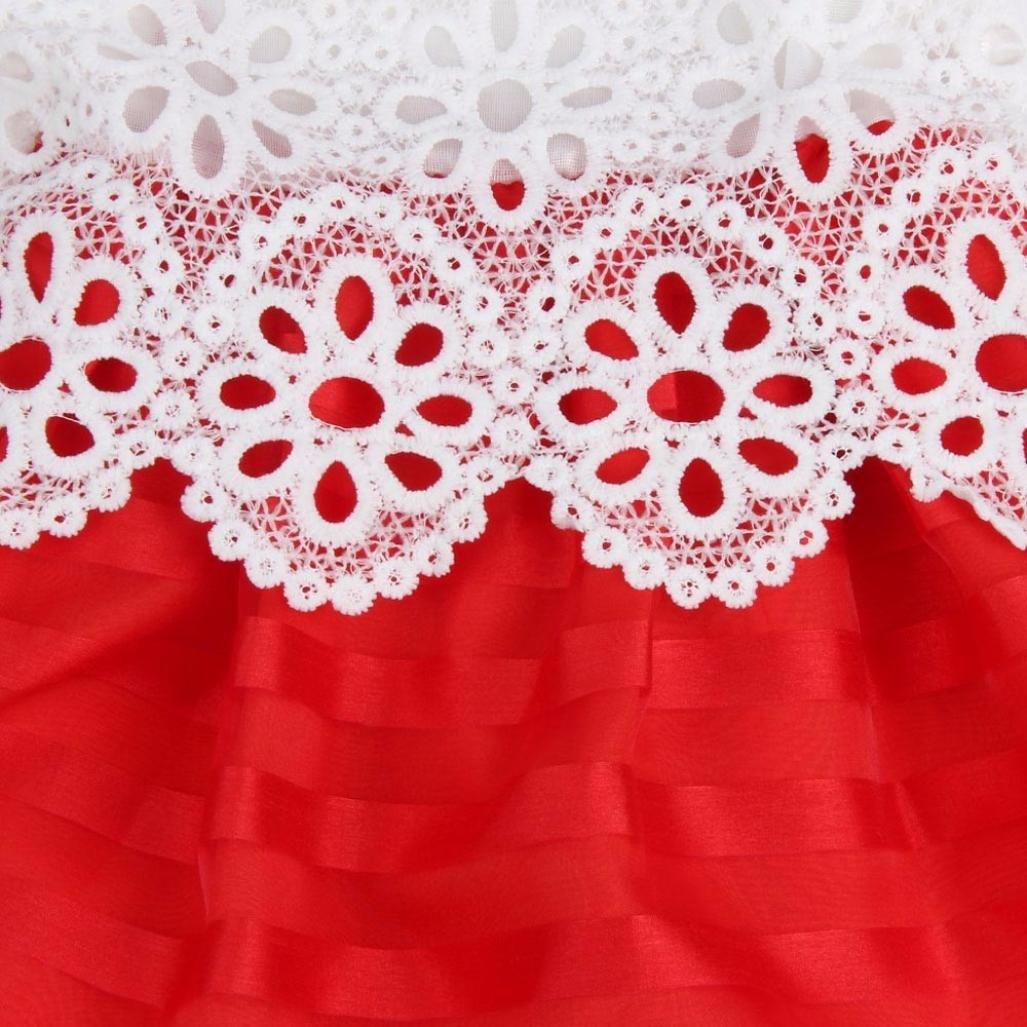 f8c8768921c ... DAY8 Fille 2 à 7 Ans Vetement Robe Princesse mode Hiver Robe Soirée  Fille Chic ete ...