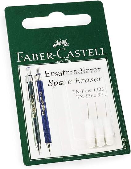 Faber-Castell Tk-Fine Repuesto Borrador Goma Recargas - Blanco ...