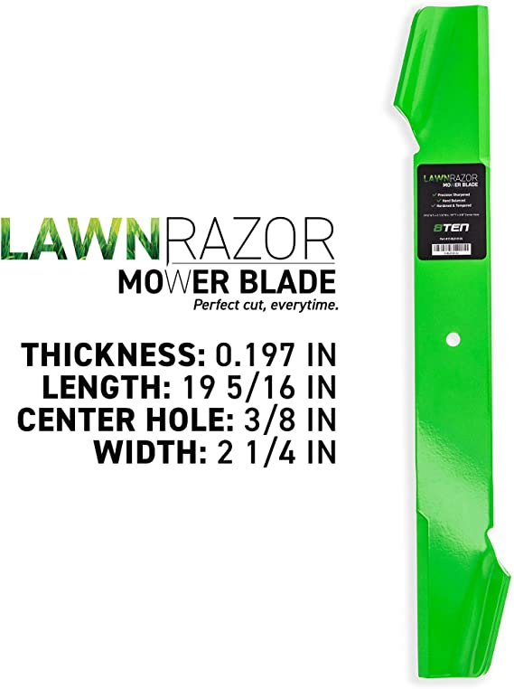 """6-Pack Mower Blades Replaces AYP 121263X for 38/"""" deck"""