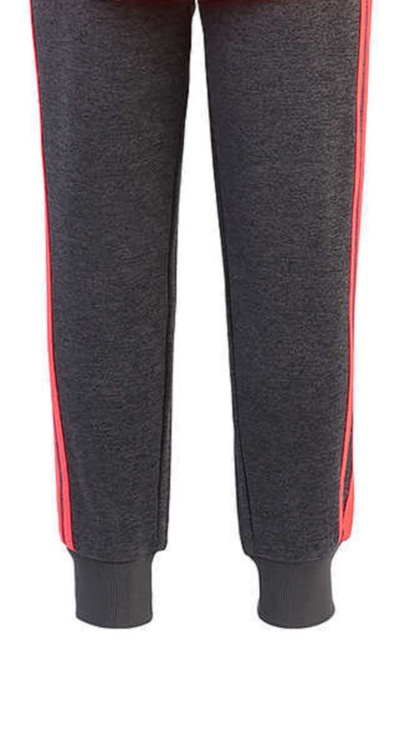 adidas Girls' Tricot Hoodie Jacket and Pant Set (4T, Heather Gray/Neon Pink) by adidas (Image #6)