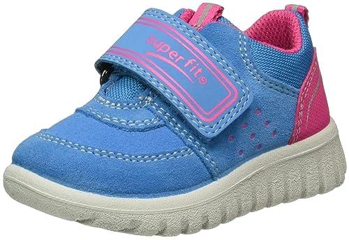 Superfit SPORT7 Mini, Sneaker Bimba, Grün (Mint Kombi), 20 EU