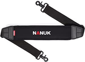 Nanuk Neoprene Adjustable Shoulder Strap with Closed AirCell Cushioning for Cases and Messenger Bags and Briefcases