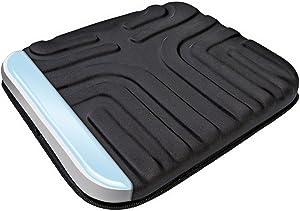 Sharper Image Multi-Use Gel Seat Cushion, Black