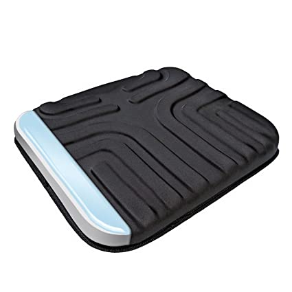Amazoncom Sharper Image Multi Use Gel Seat Cushion Black Automotive