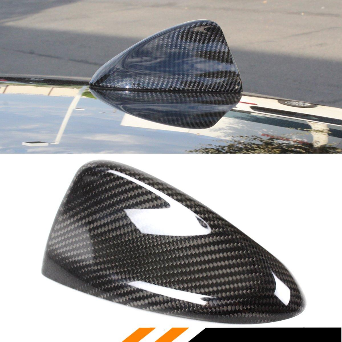 Cuztom Tuning for 2017 2018 ALFA Romeo Giulia QUADRIFOGLIO Carbon Fiber Shark FIN Antenna Cover Cap