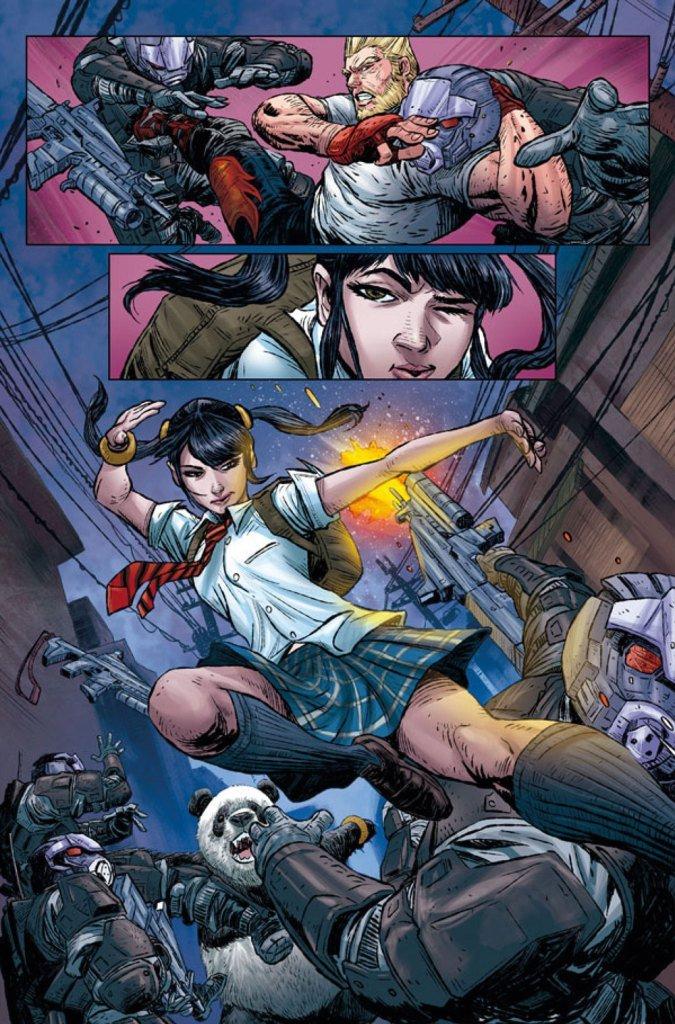 Tekken Comic Book