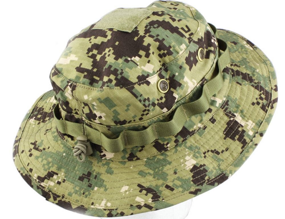 e6dee92fbb1 Emerson AIRSOFT FISHING AOR2 BOONIE HAT DELUXE SIZE LARGE JUNGLE DIGI   Amazon.co.uk  Sports   Outdoors