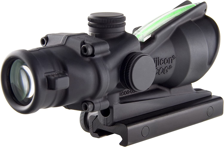 Trijicon ACOG Dual Illum Crosshair .300 Blackout Ballistic Reticle, 4X 32mm, Green