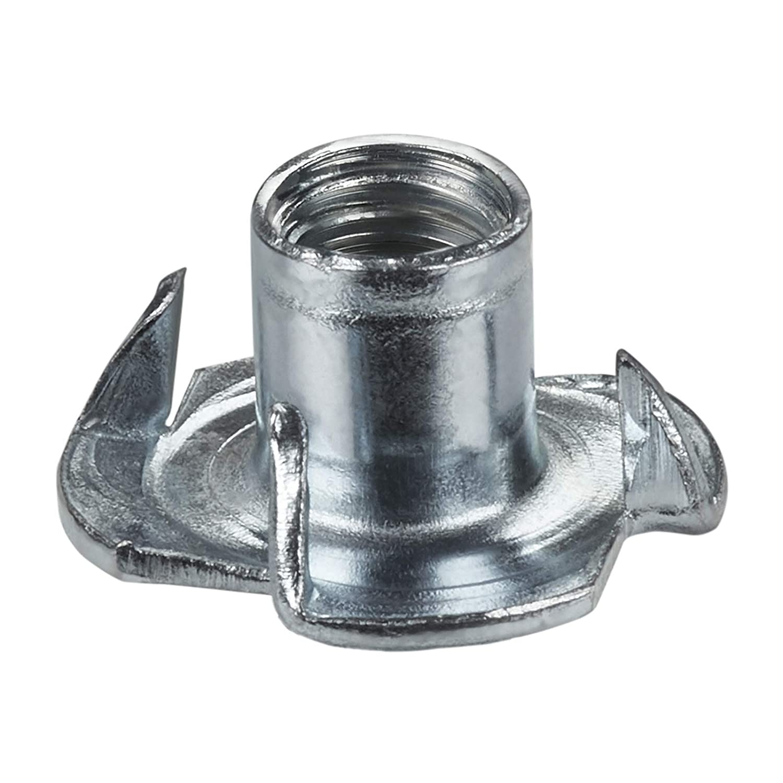 100 x SO-TECH/® Tuerca para Clavar M4 x 8 x 15 mm con 4 Puntas por la Consolidaci/ón de Componentes de Muebles Diferentes