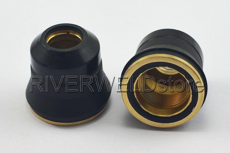 PR0110 Plasma Electrode PD0116-06 buse de coupe /Φ0,65 /& PC0116 Pour Trafimet S25K S45 63pcs