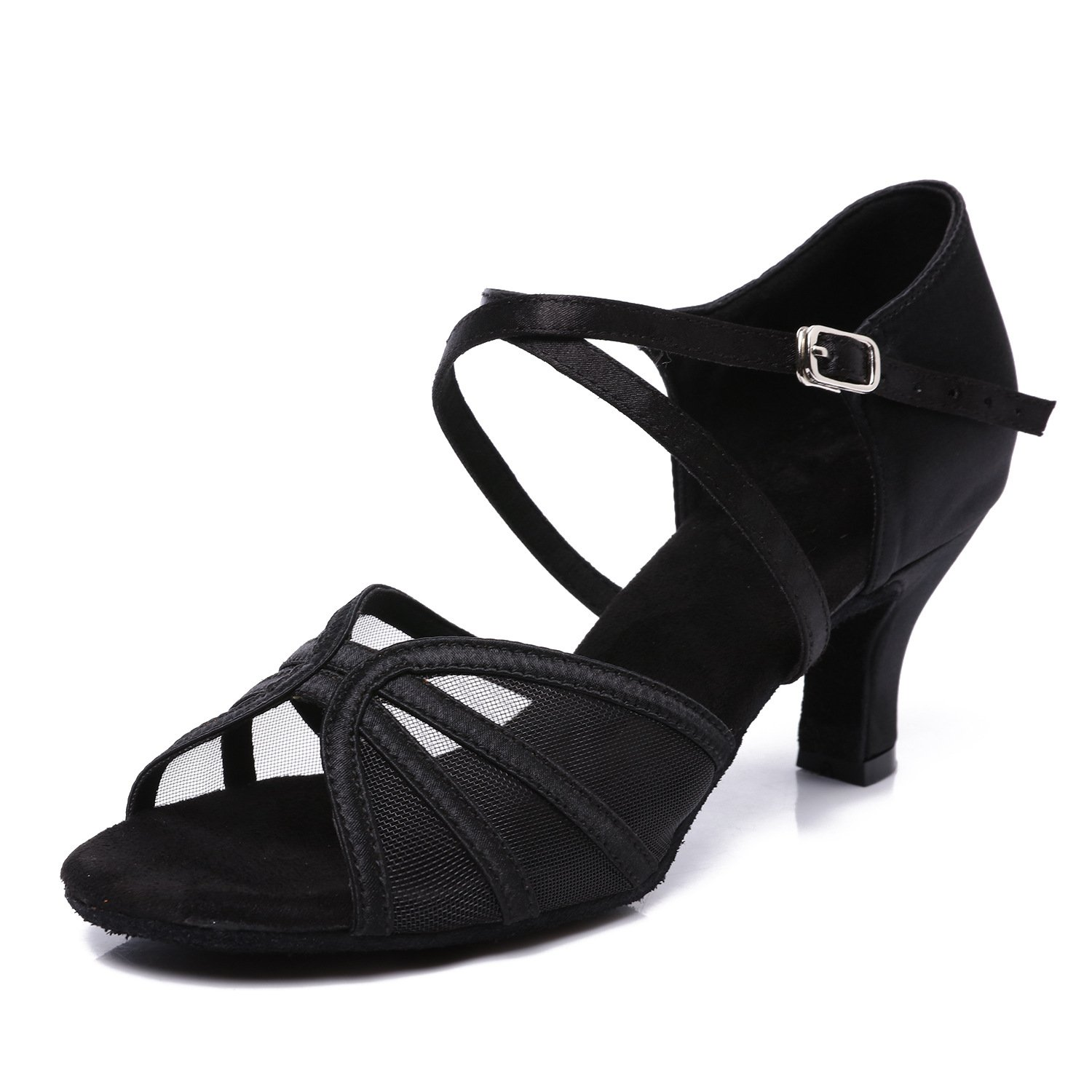 [CLEECLI] レディース B07HNC2B4G Black-2.5 Inch Heel 10 M US