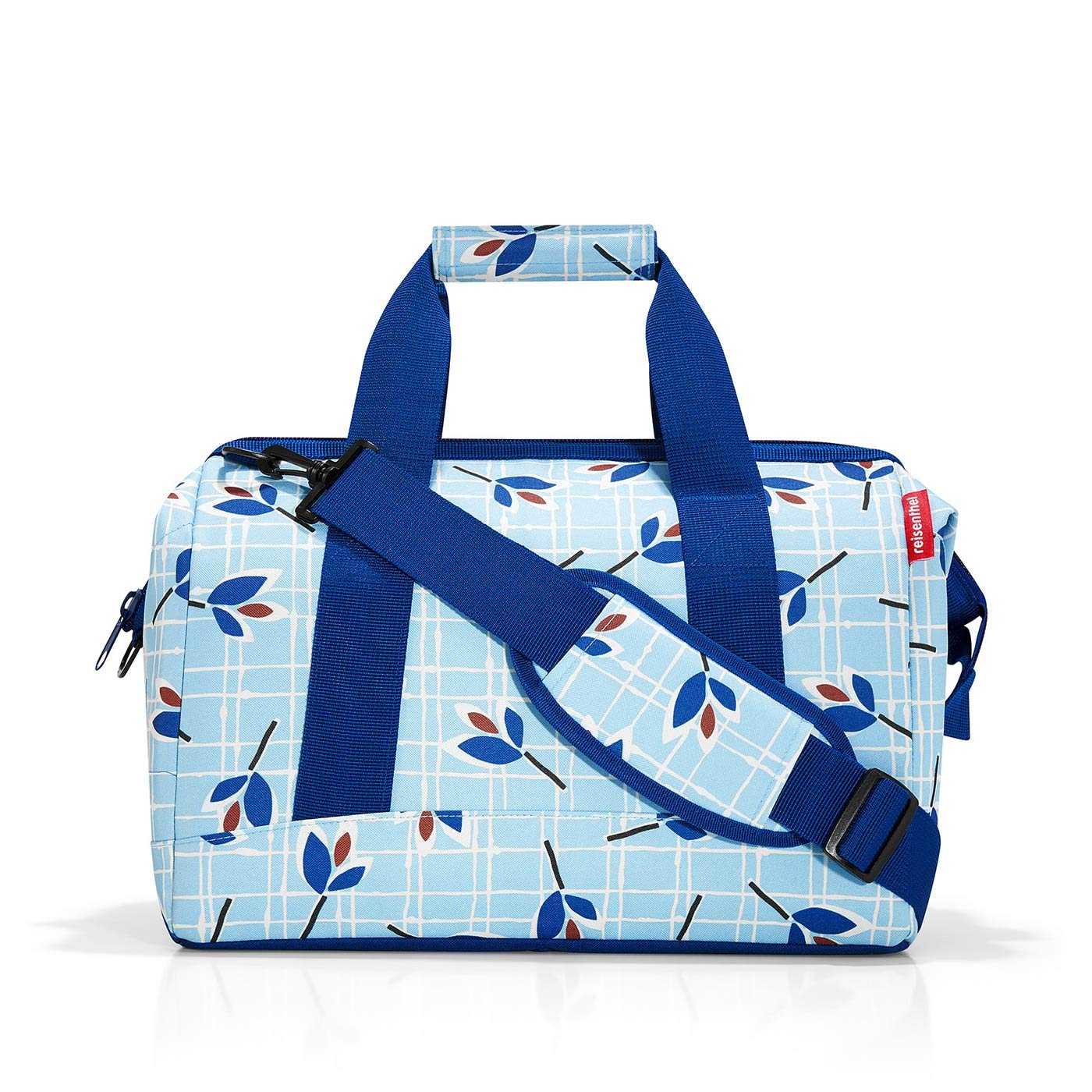 - MS4064 Leaves Blue Bleu Reisenthel Allrounder M Sac de Voyage 40 cm