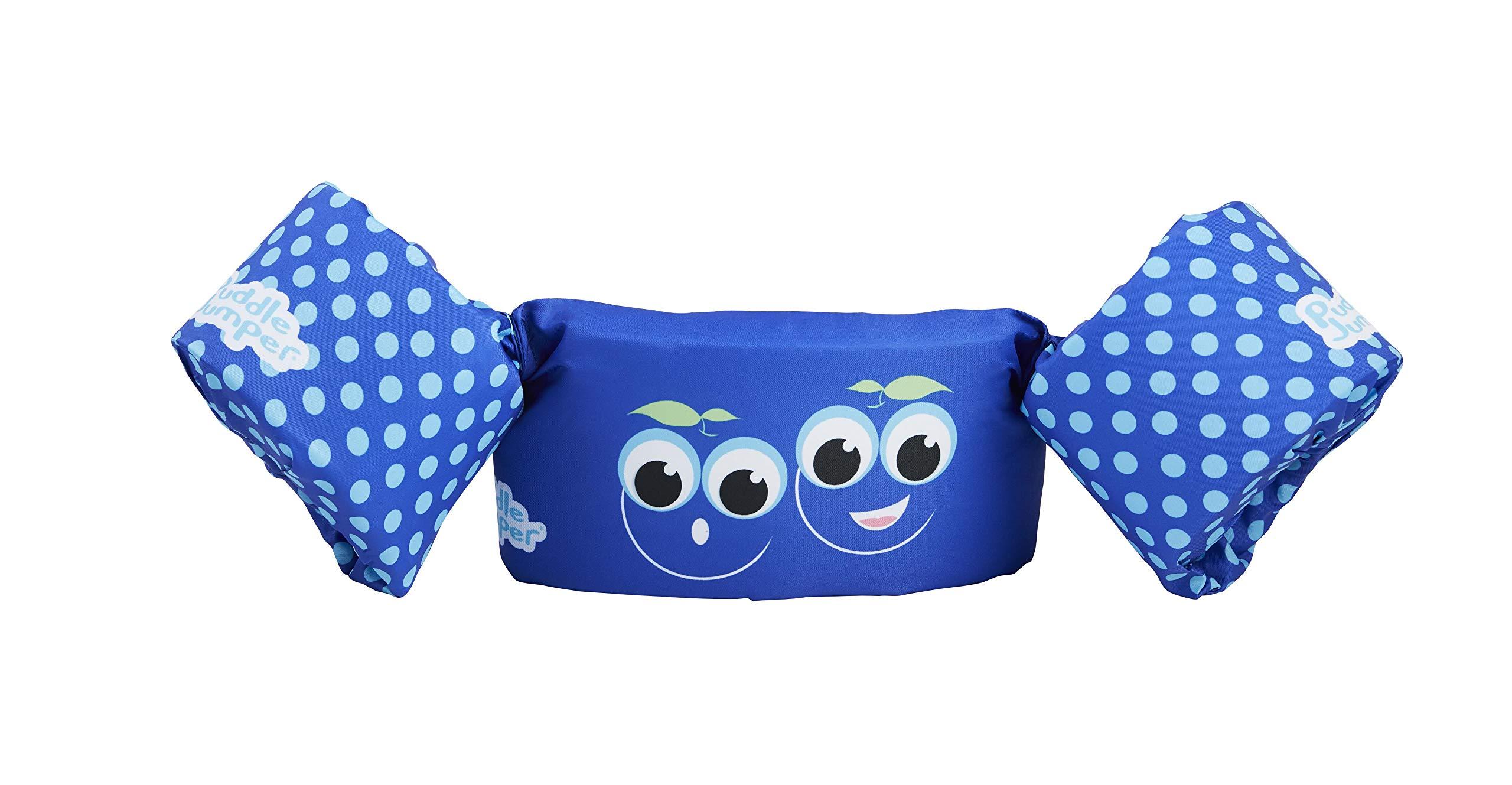 Stearns Puddle Jumper Kids Life Jacket   Life Vest for Children, Blueberry, 30-50 Pounds