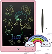 Pilipada LCD Writing Tablet Colorful Drawing Tablet, 10 Inches Light Drawing Board Doodle Pad, Early Educational Writing Boar