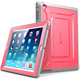 SUPCASE Apple iPad Case [Unicorn Beetle PRO Series] Full-body Rugged Hybrid Protective Case Cover with Built-in Screen Protector for the New iPad 4 & 3 (3rd and 4th Generation) / iPad 2 Pink/Gray