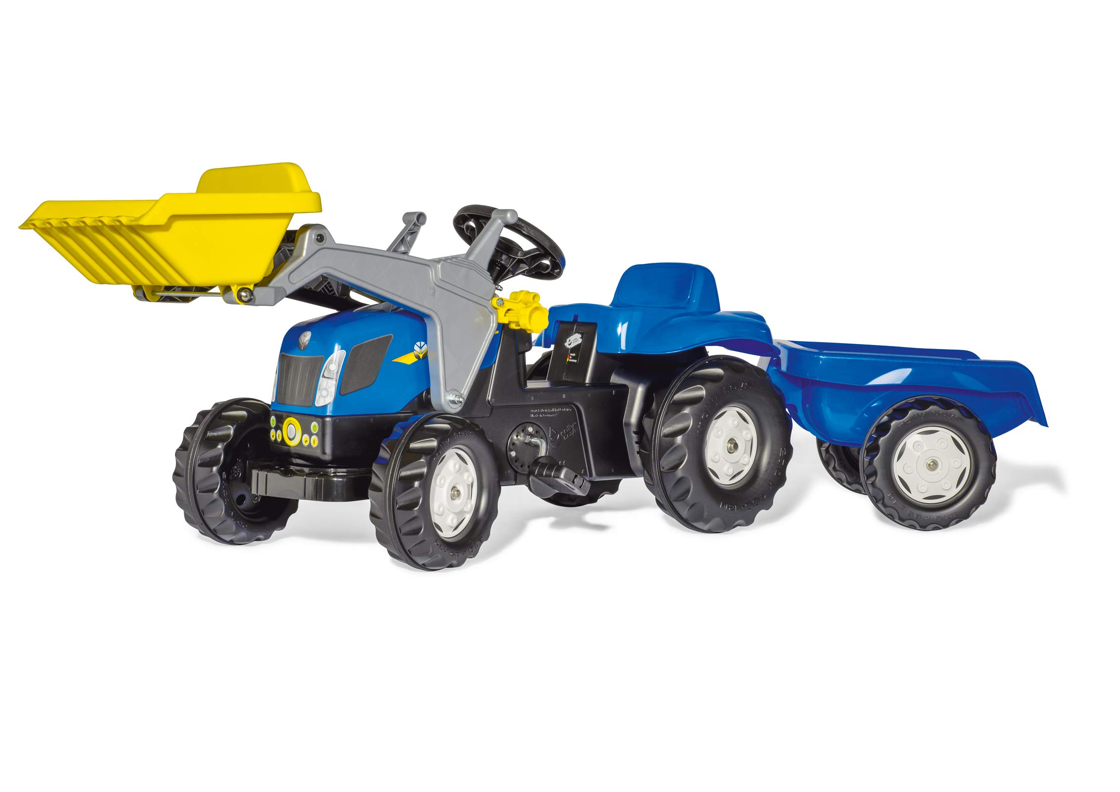 Rolly Toys New Holland Kid-X Front Loader Tractor, Blue by rolly toys (Image #2)