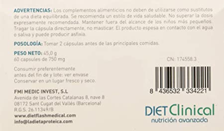Diet Clinical Complemento - 100 gr: Amazon.es: Salud y cuidado ...