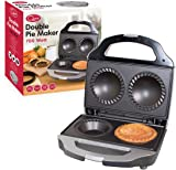 Quest 35970 Benross Twin Two Pie Non Stock Electric Sweet/Savory Maker with Crimping Edge and Pastry Cutter, 700 W