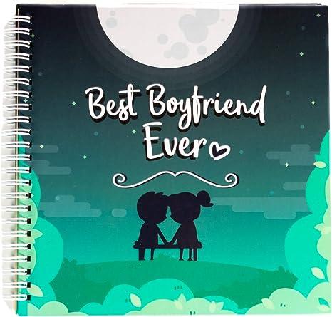 Best Boyfriend Ever Memory Book. The Best Romantic Anniversary Gift Idea for Your Boyfriend