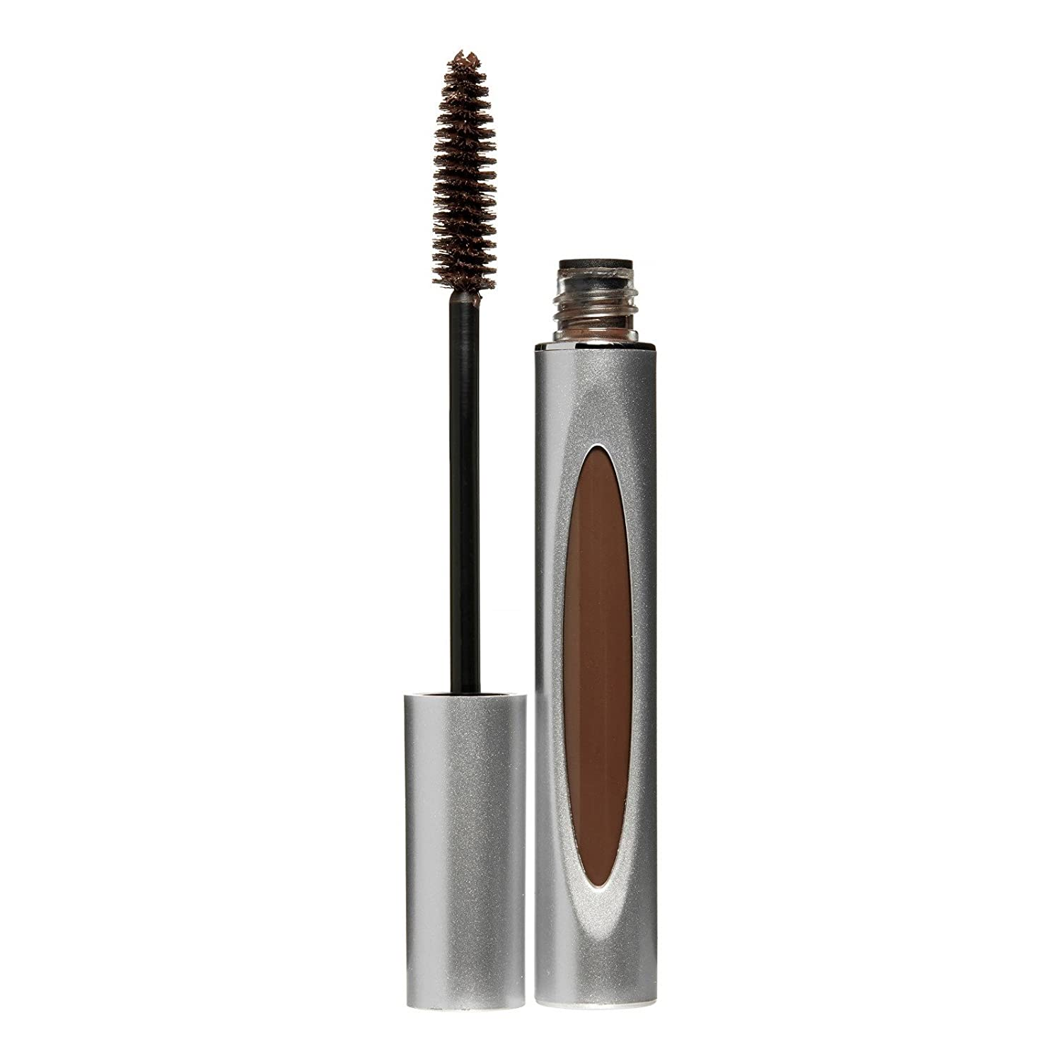 Honeybee Gardens Truly Natural Mascara, Chocolate Truffle | Vegan, Cruelty Free, Paraben Free, Gluten Free | Lash conditioning & flake free