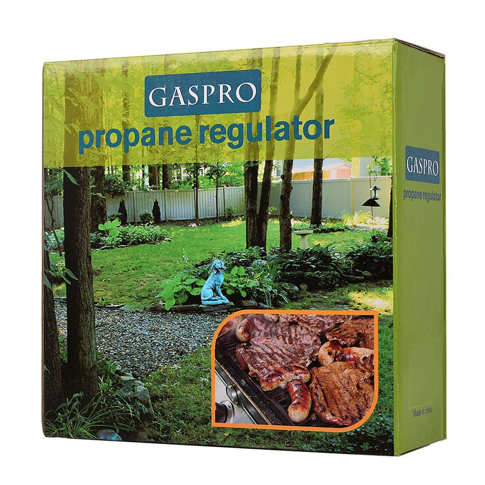 GASPRO 6FT Low Pressure Propane Regulator with CSA Certified LPG Hose for QCC1/Type1 Propane Tank and LP Gas Grill and Propane Appliances- Horizontal by GASPRO (Image #4)