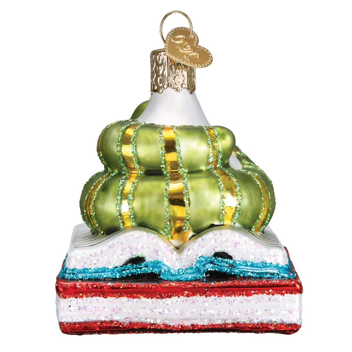 Old World Christmas 12514 Ornament Bookworm