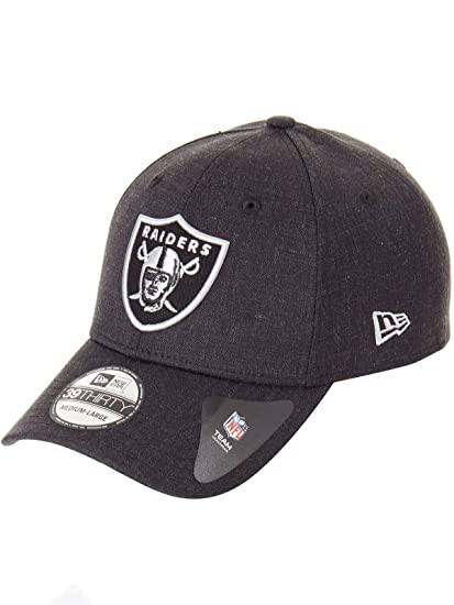A NEW ERA Gorra 39Thirty Heather ESS Raiders by beisbolgorra NFL ...