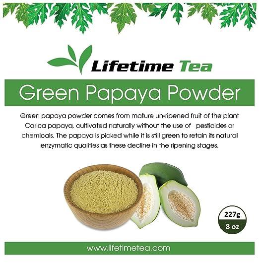 Orgánicos polvo de Papaya Verde – 8 onzas: Amazon.com ...