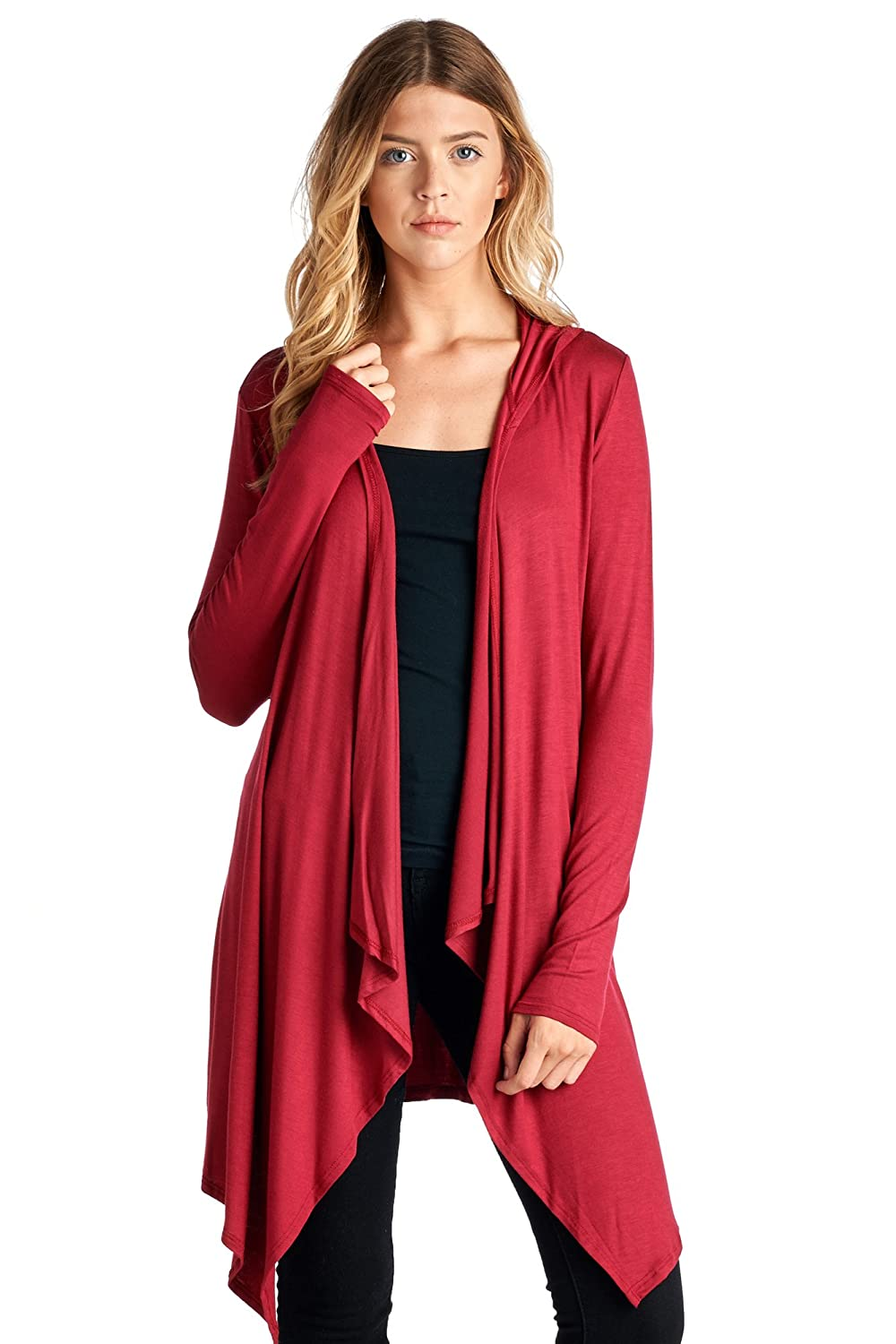 82 Days Women's Various Fabrics & Styles of Trendy Cardigan - Solid & Prints