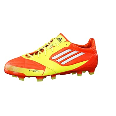 Orange FootballCuir Adidas Adizero F50 De Chaussures Trx AL3j54R