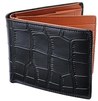 0cbfb8765b40 Amazon   [レガーレ] 二つ折り財布 本革 大容量 カード15枚収納 カラー ...