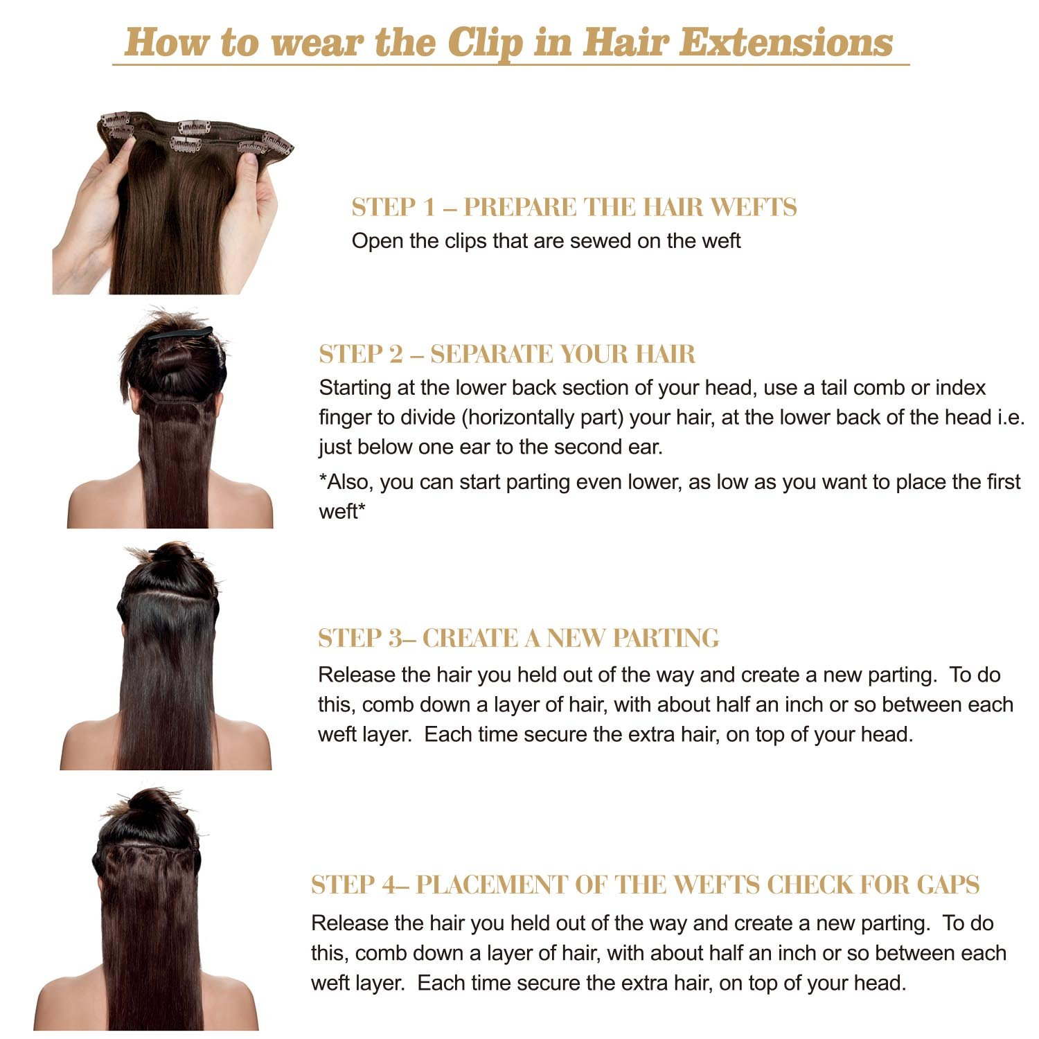 Amazon Beauty Plus Vrigin Remy Clip In Hair Extensions