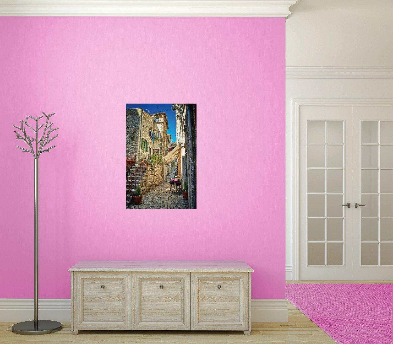 ... Romántica callejuela en Croacia en el centro de la Ciudad en calidad premium, tamaño: 50 x 125 cm, póster, 61 x 91,5 cm: Amazon.es: Juguetes y juegos