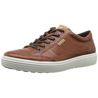 ECCO Men's Soft 7 Sneaker, Cognac, 40 M EU (6-6.5 US)
