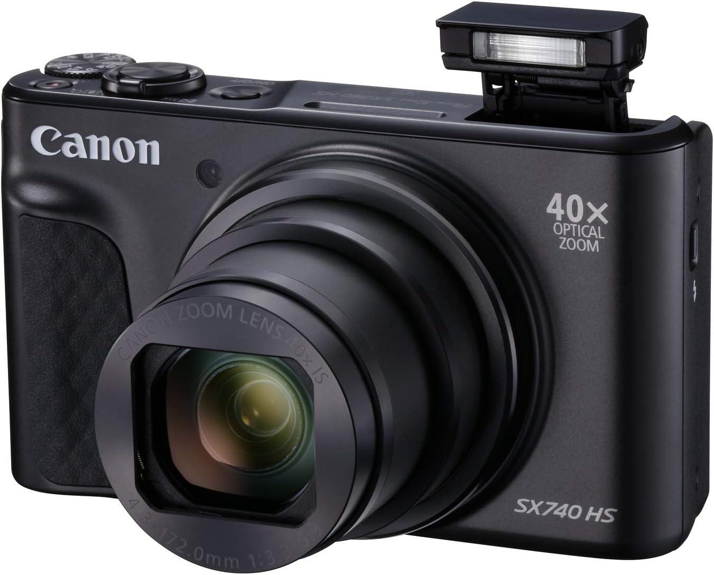 Canon Powershot Sx740 Hs Digitalkamera 3 Zoll Schwarz Kamera