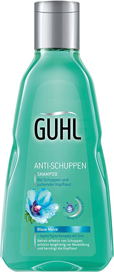 Guhl Anti- Caspa Champú, 4 Pack (4 X 250 G): Amazon.es: Belleza