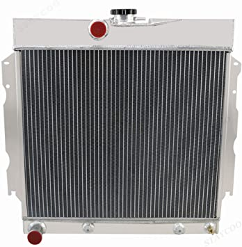 """22/"""" Wide Core 1964 1965 1966 1967 1968 1969 Plymouth 4 Core DR Radiator"""
