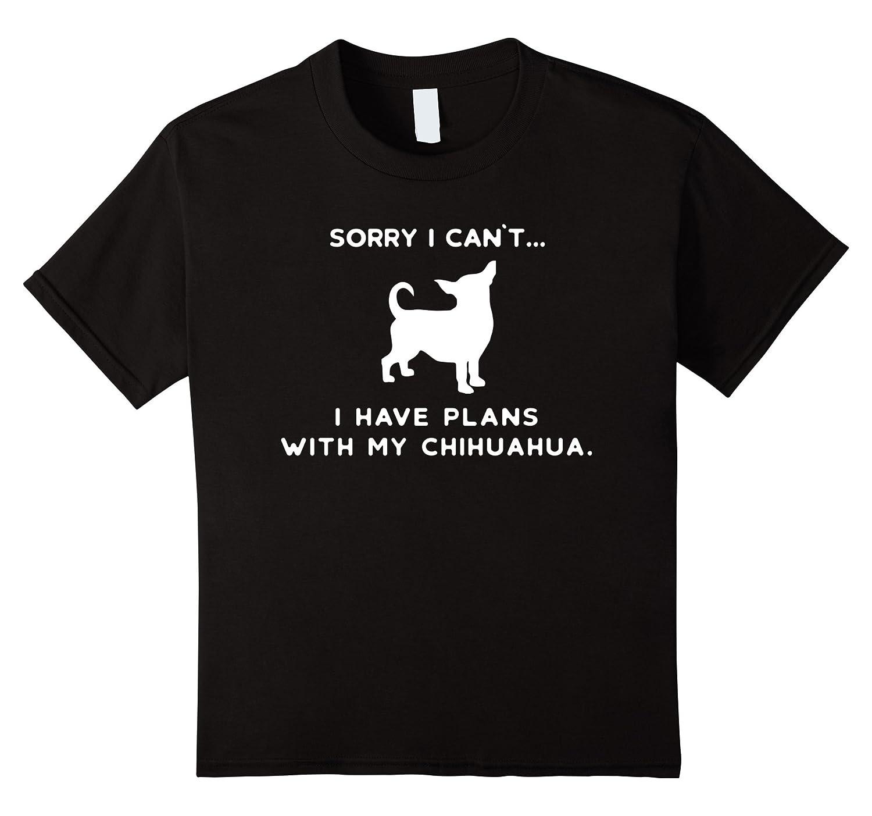 Funny Chihuahua Dog T Shirt Children-Awarplus