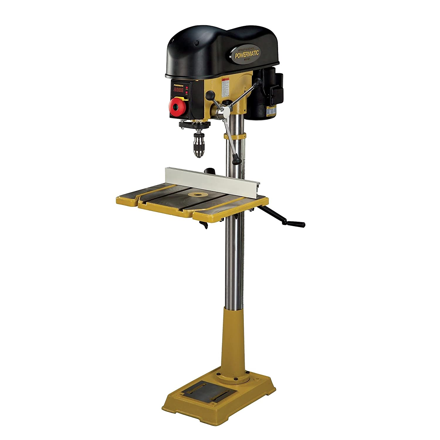 Post it note as a collector while drilling - Powermatic Pm2800 1792800 18 Inch Variable Speed Drill Press Power Magnetic Drill Presses Amazon Com