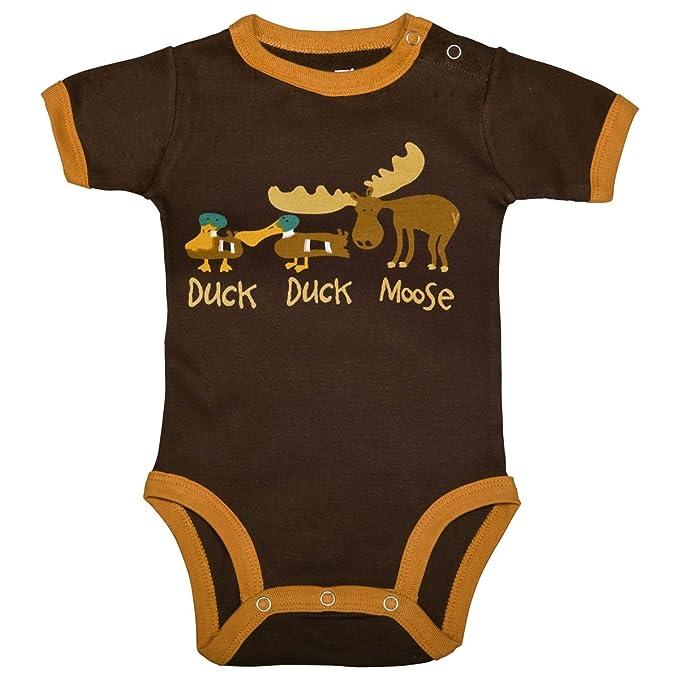 LazyOne Chicos Duck Duck Moose Mameluco Bebé: Amazon.es: Ropa y accesorios