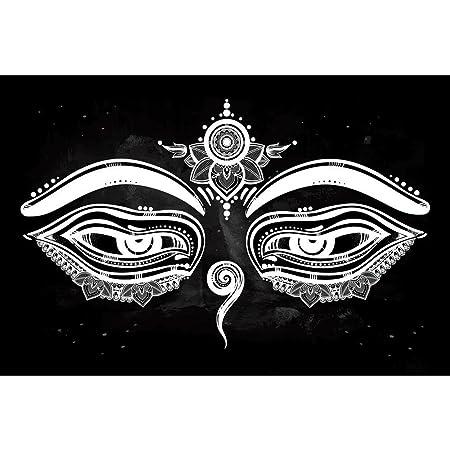 Pitaara Box Pb Eyes Of Buddha Symbol Of Wisdom Enlightenment Peel